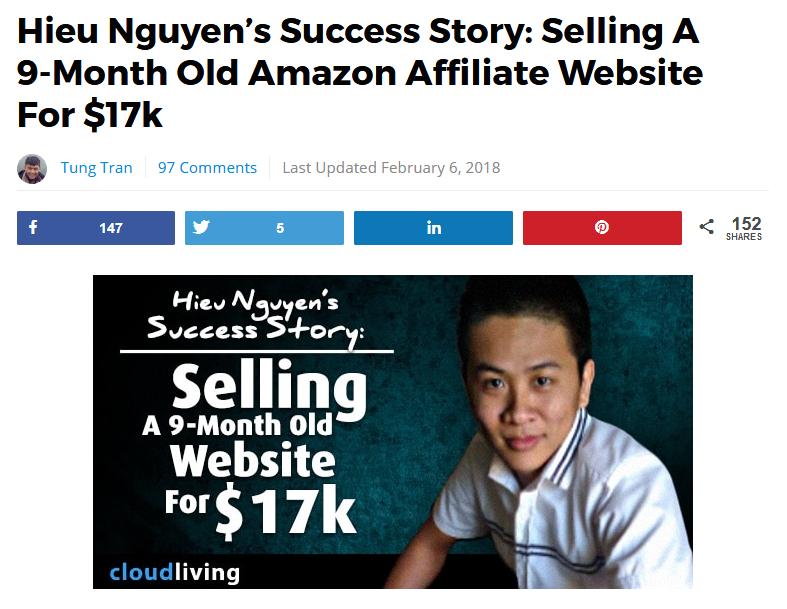 Un article sur un autre blog qui détaille l'histoire de Hieu Nguyen