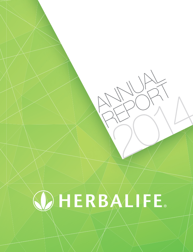Rapport annuel Herbalife