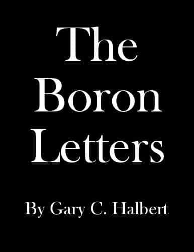 The Boron Letter