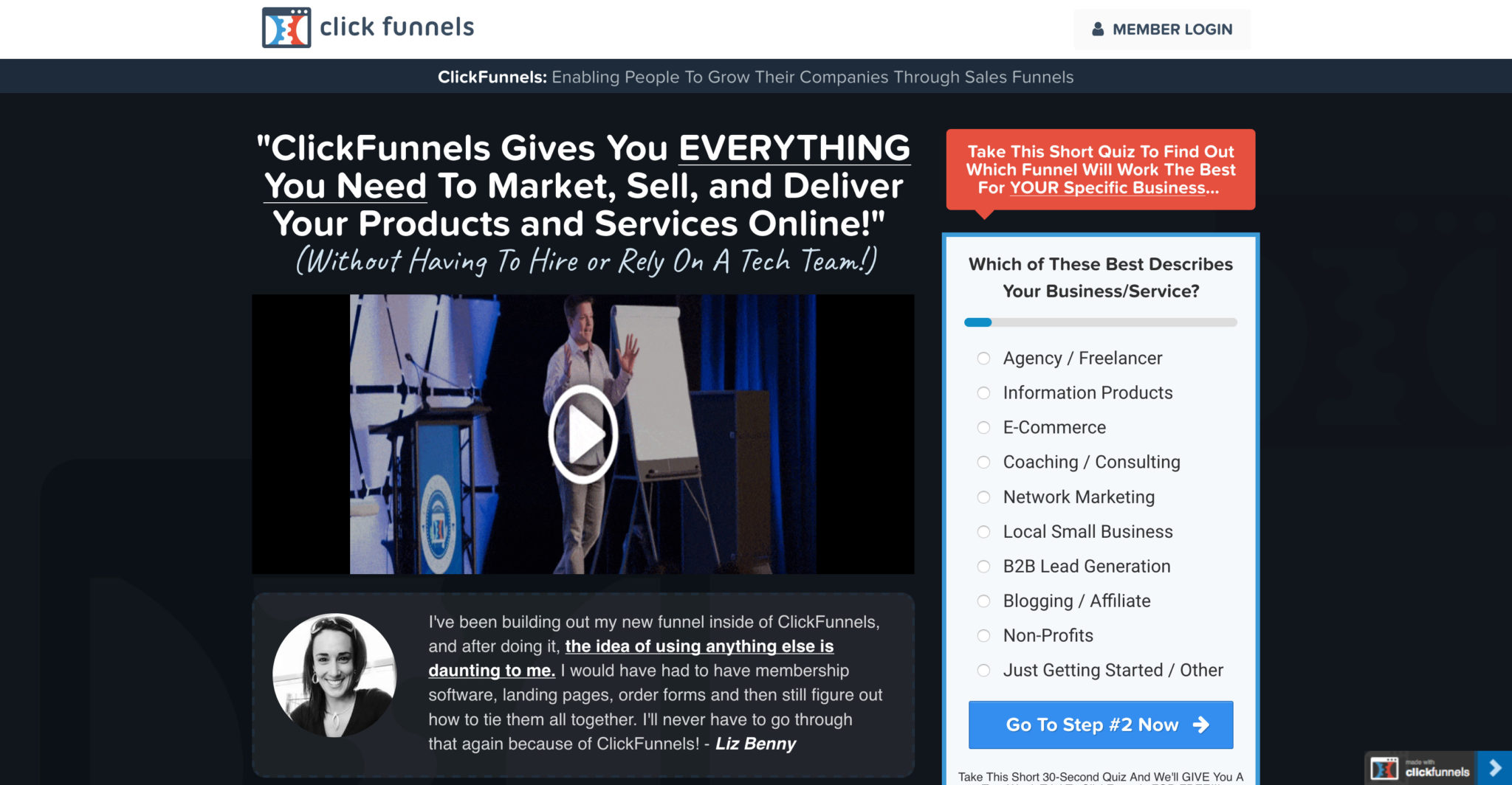 ClickFunnels - Marketing Funnels Made Easy