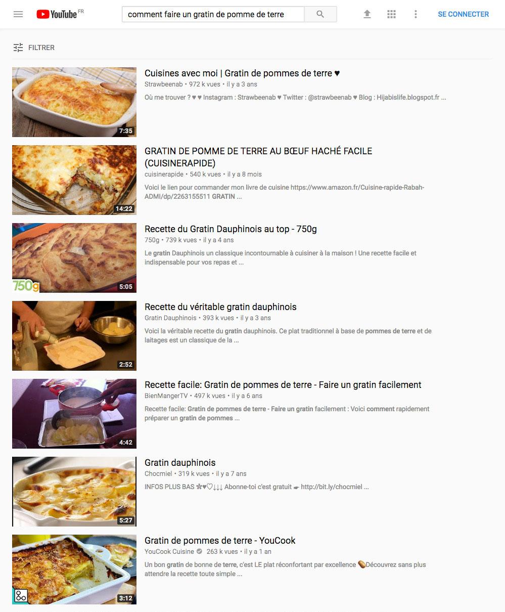 comment faire un gratin de pomme de terre - youtube avoir plus de vues