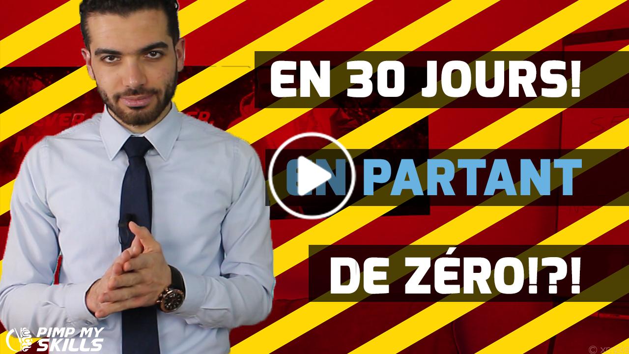Gagner De L'Argent En 30 Jours En Partant De Rien ?!